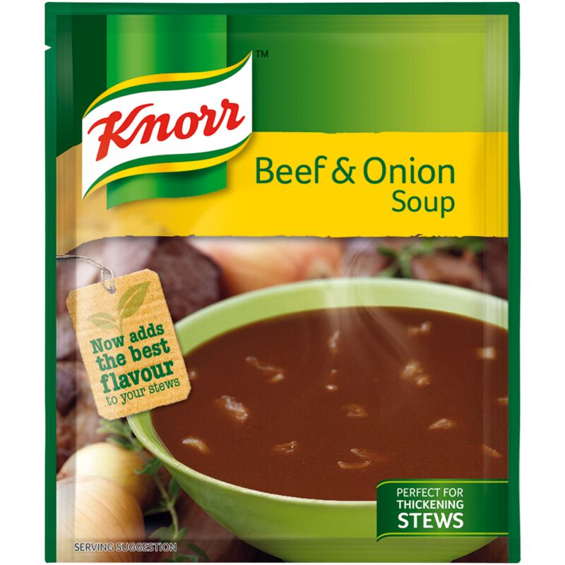 KNORR SOUP BEEF & ONION – 50G