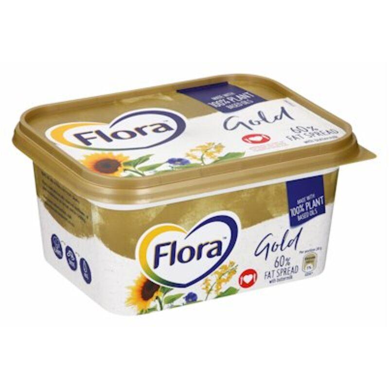 FLORA MARGARINE TUB GOLD – 1KG