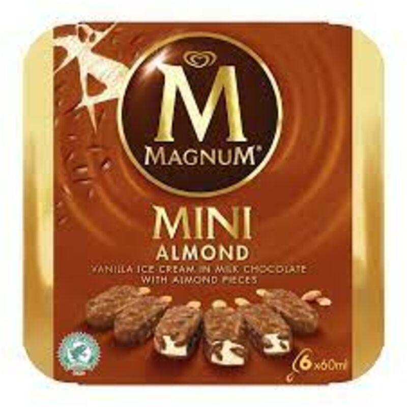 MAGNUM ICE CREAM ALMOND MP – 6S