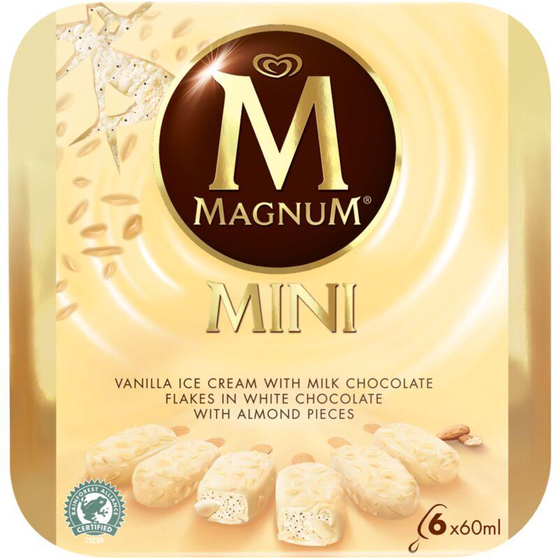 MAGNUM ICE CREAM WHITE ALMOND – 6S