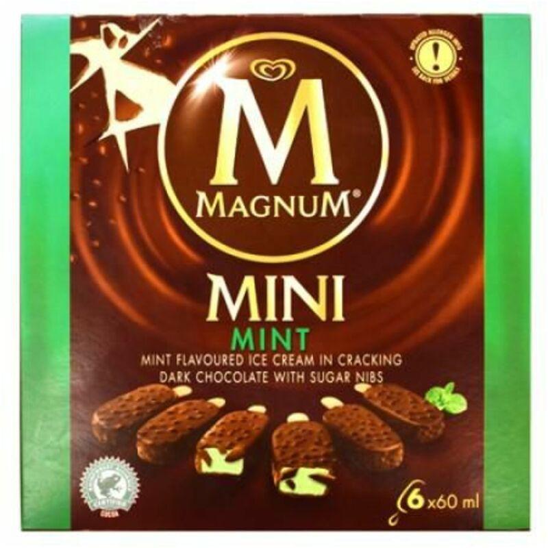 MAGNUM ICE CREAM MINT MULTIPACK – 6S