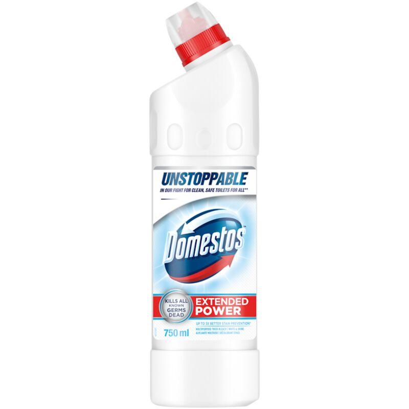 DOMESTOS SANITARY LIQUID WHITE SHINE – 750ML