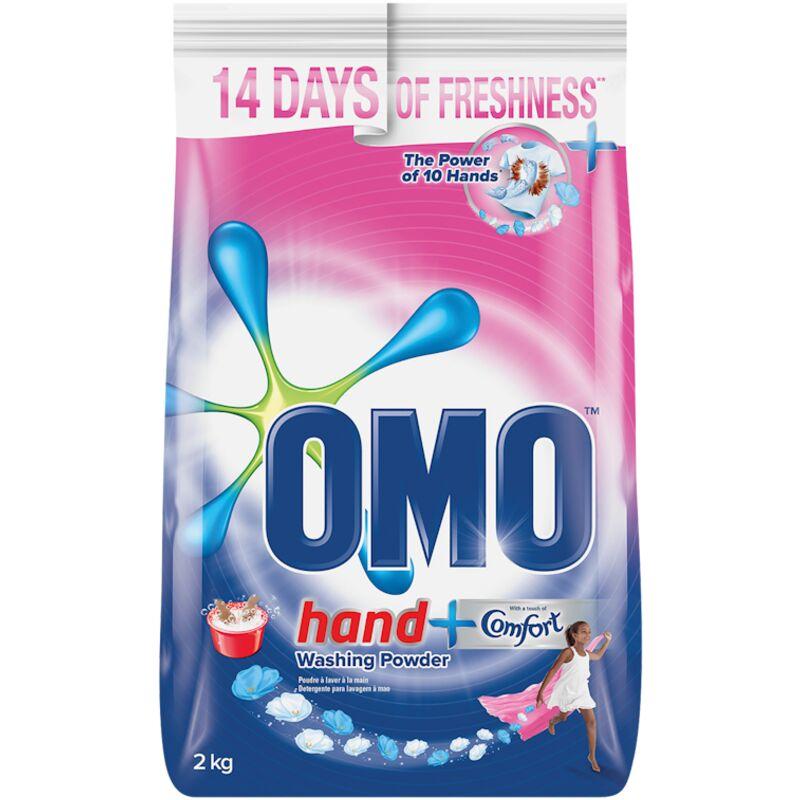 OMO HAND WASH POWDER TOUCH COMFORT – 2KG