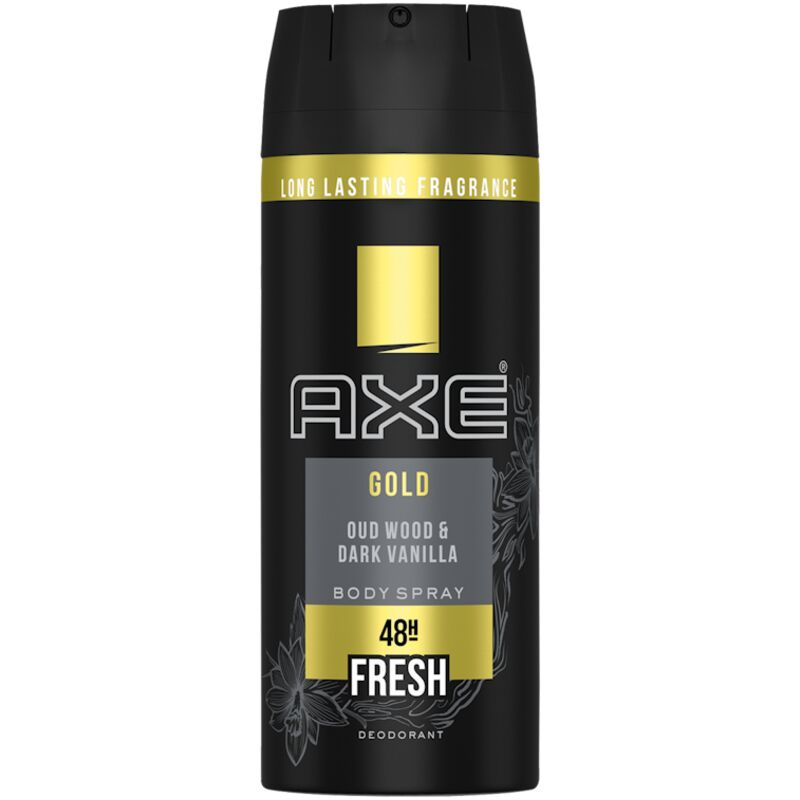 AXE AEROSOL ANTI PERSPIRANT GOLD – 150ML