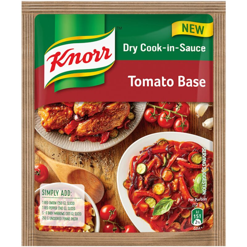 KNORR COOK IN SAUCE TOMATO BASE – 48G