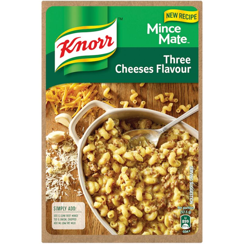 KNORR MINCE MATE THREE CHEESE – 230G