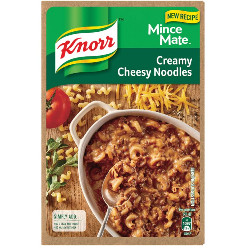 KNORR MINCE MATE CREAMY CHEESY NOODLE – 295G