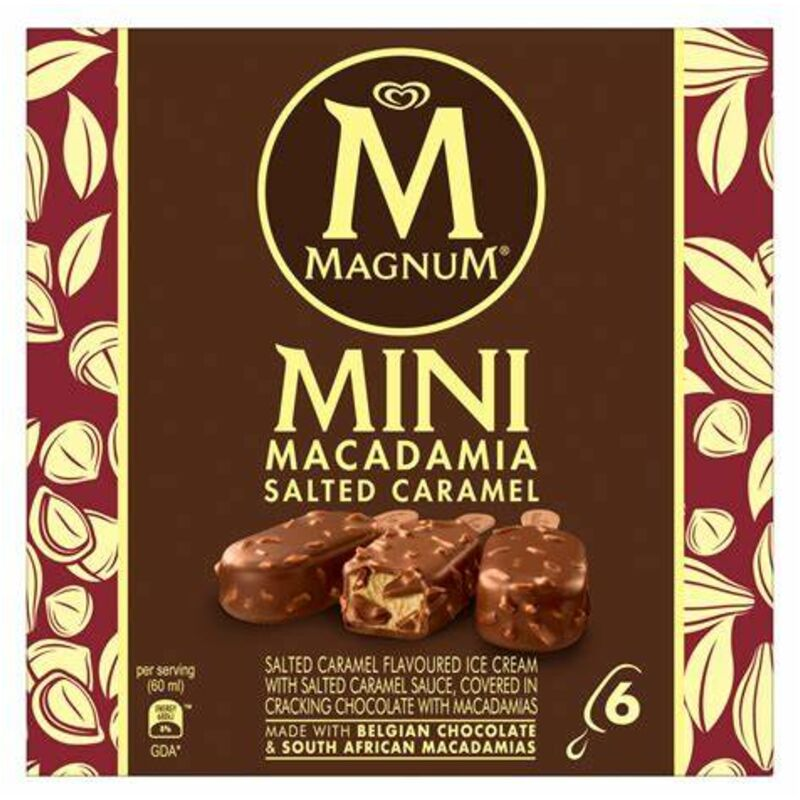 MAGNUM SALTED CARAMEL MACADAMIA – 6S