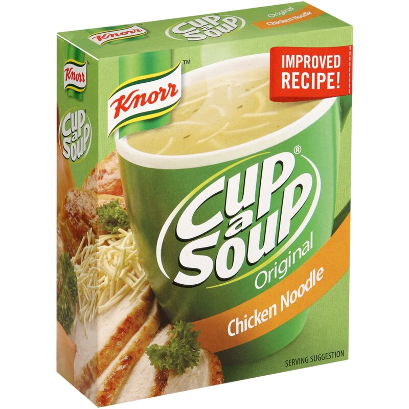 KNORR SOUP CHICKEN & NOODLE – 80G
