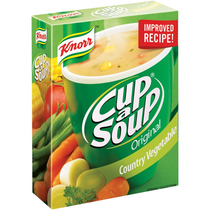 KNORR SOUP COUNTRY VEGETABLE – 80G
