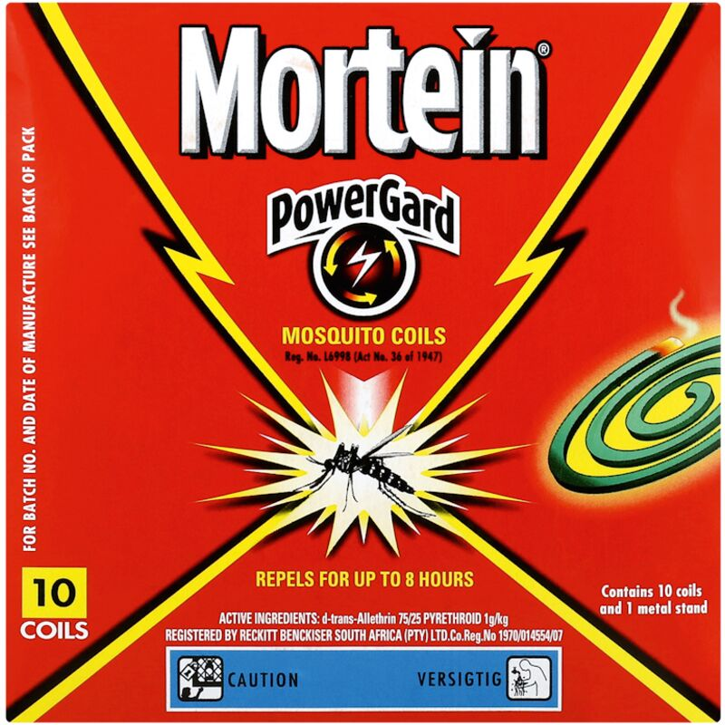 MORTEIN TARGET MOSQUITO COILS – 10S