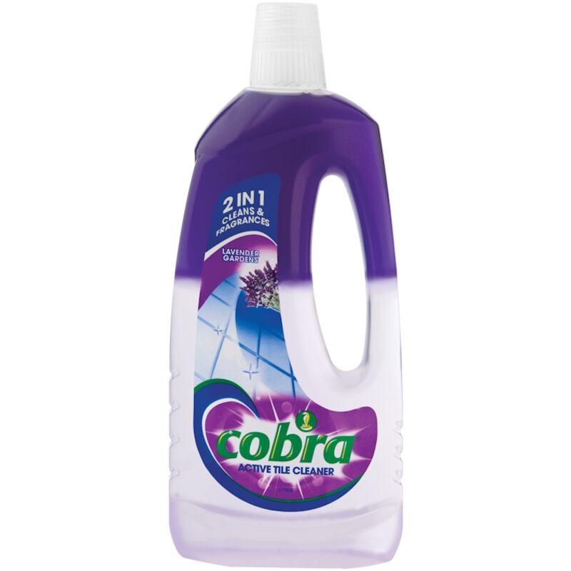 COBRA ACTIVE TILE CLEANER LAVNDER – 750ML