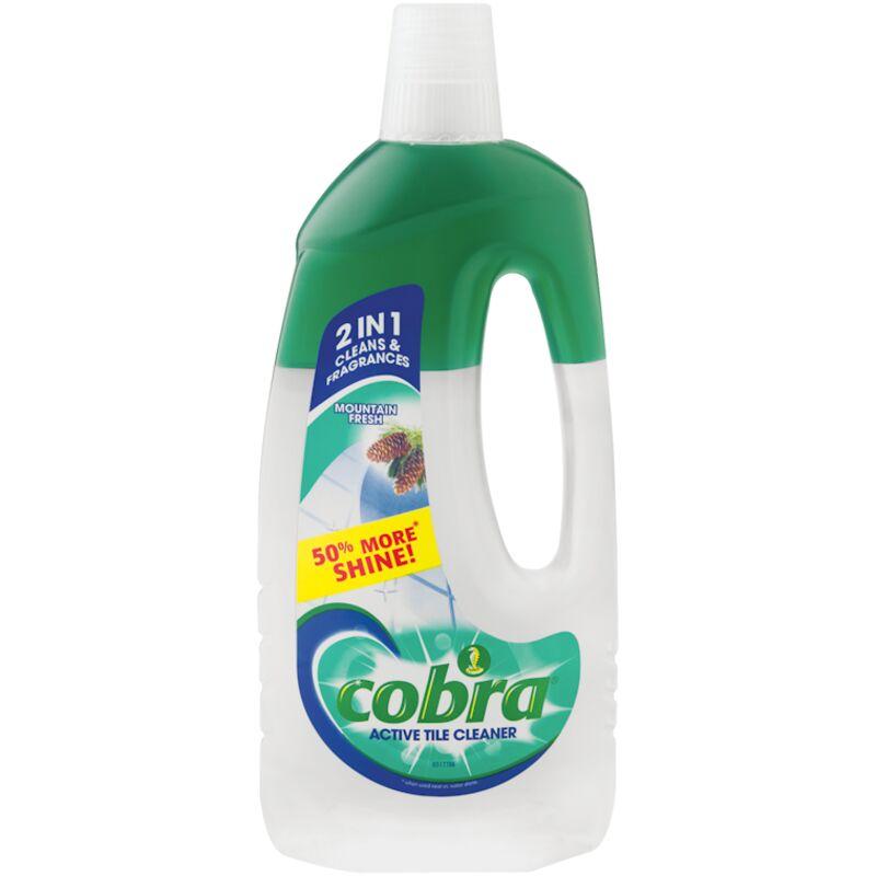 COBRA ACTIVE TILE CLEANER MOUNTAIN FRESH – 750ML