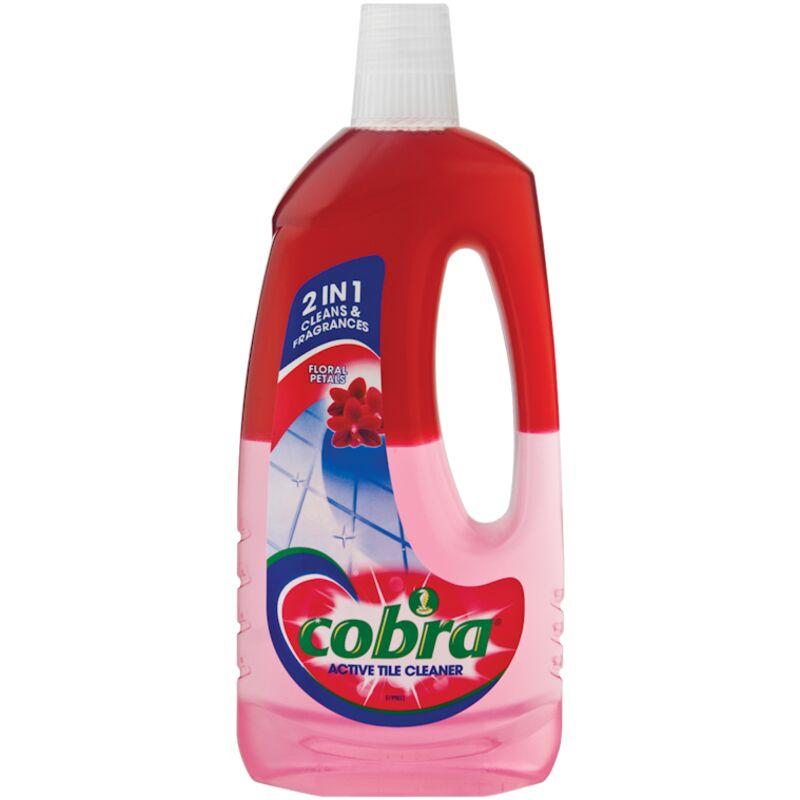 COBRA ACTIVE TILE CLEANER FLORAL – 750ML