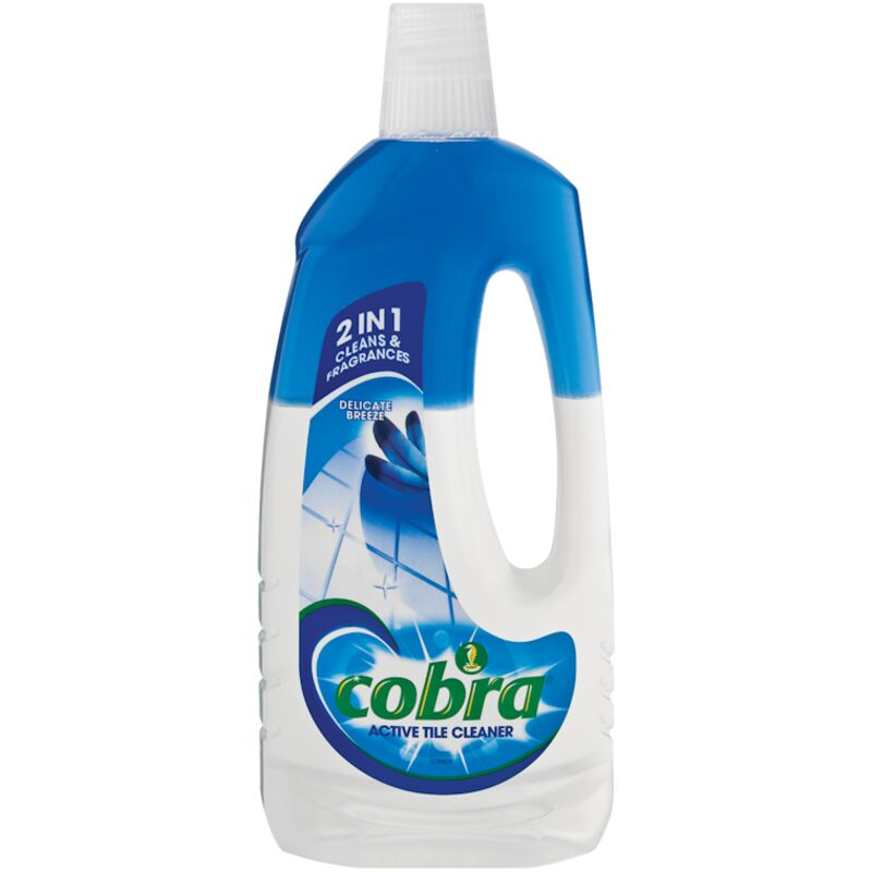 COBRA ACTIVE TILE CLEANER DELICATE – 750ML