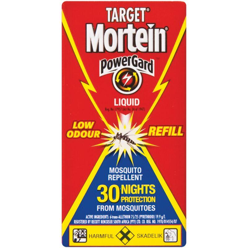 MORTEIN TARGET 30 NIGHT LIQUID REFILL – 28ML
