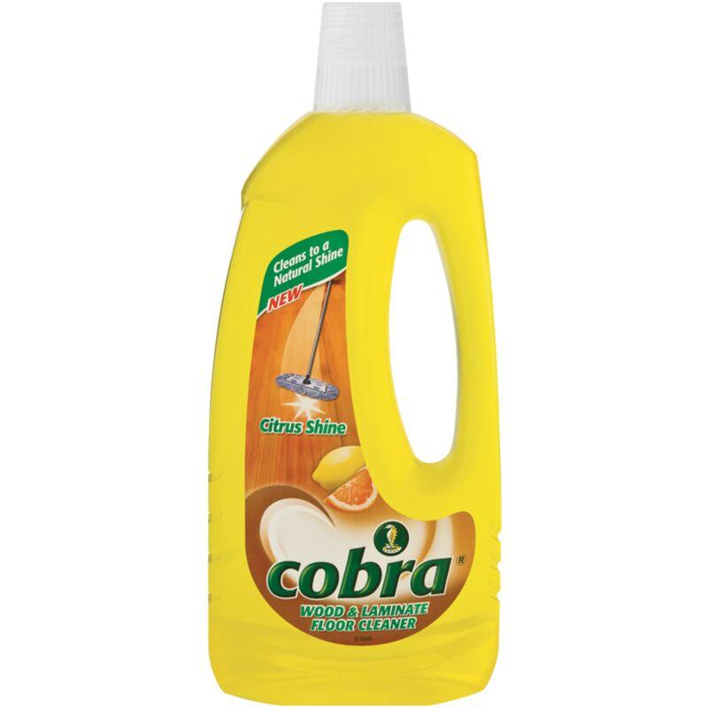 COBRA WOOD LAMINATING FLOOR CLEANER CITRUS – 750ML