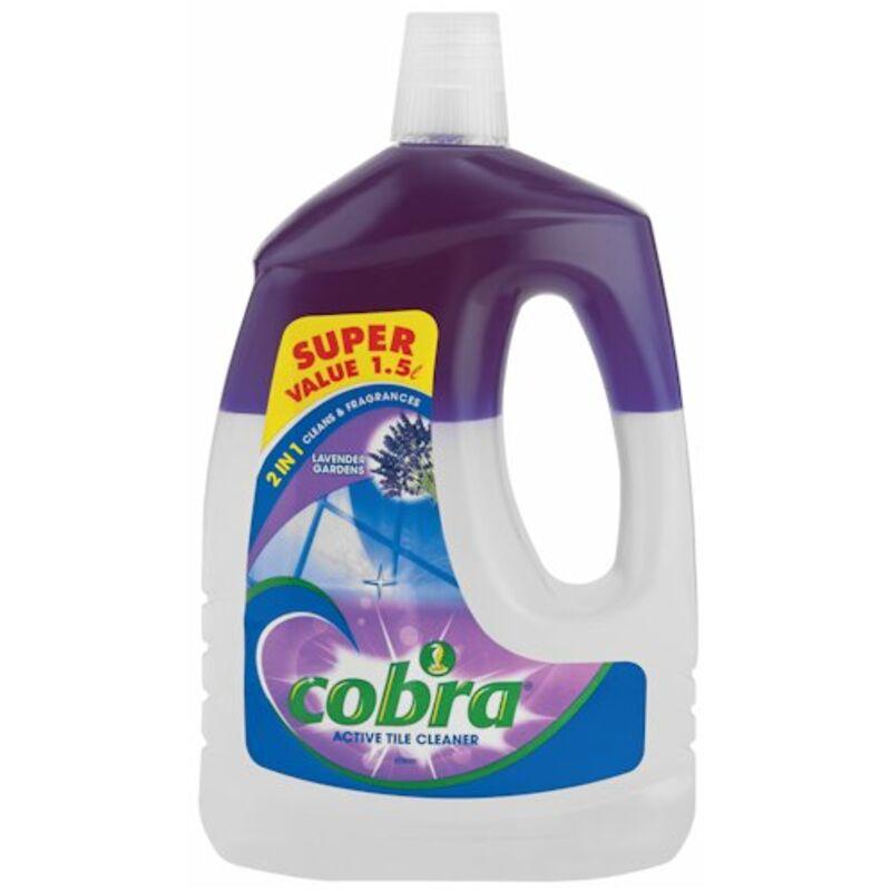 COBRA ACTIVE TILE CLEANER LAVENDER – 1.5L