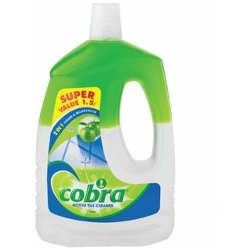 COBRA ACTIVE TILE CLEANER APPLE – 1.5L