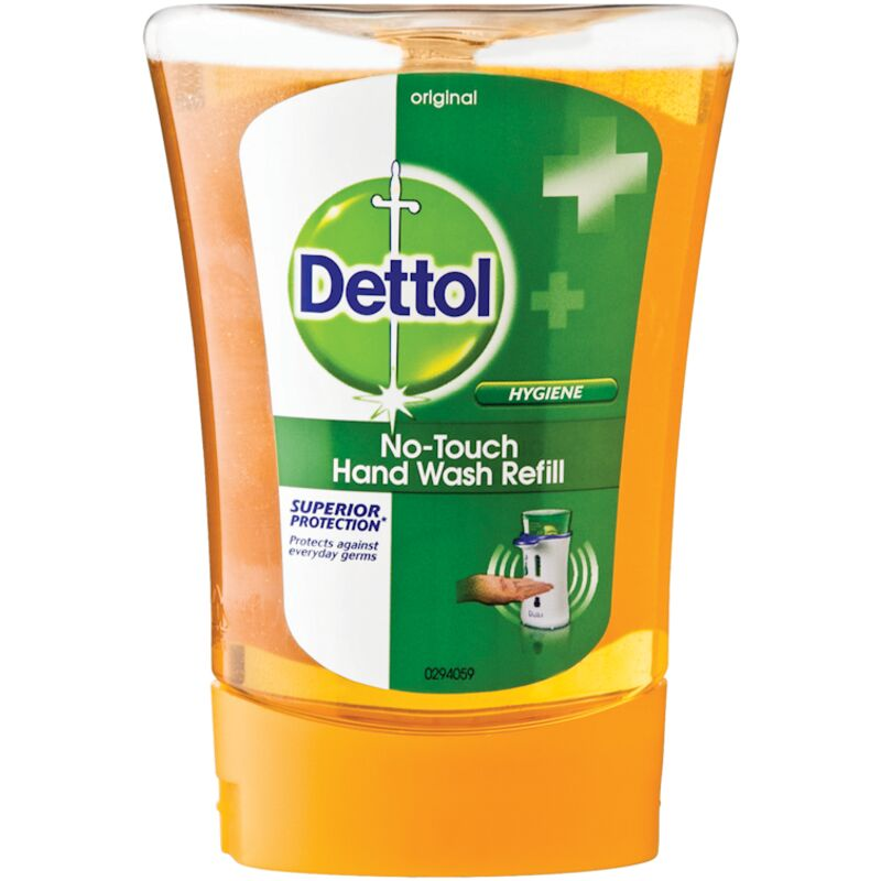 DETTOL HAND WASH NO TOUCH ORIGINAL REFILL – 250ML