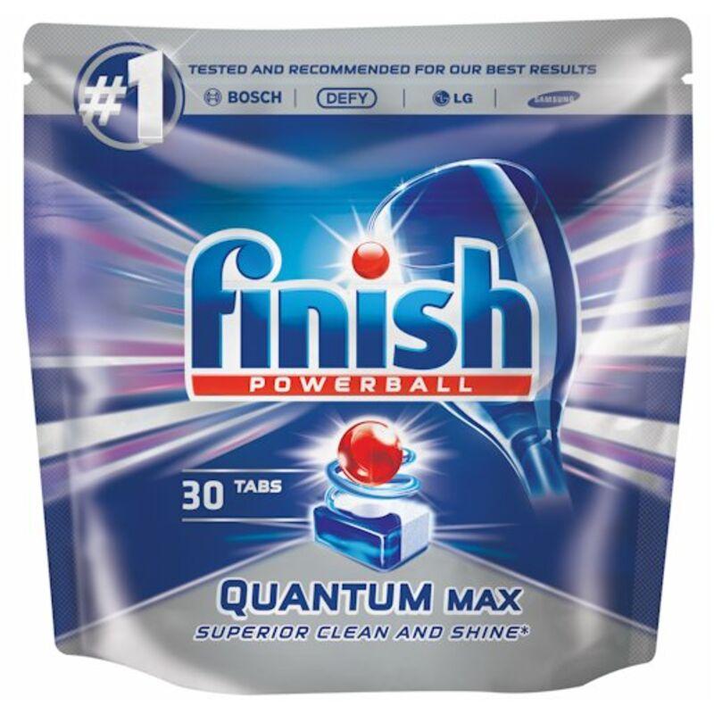 FINISH QUANTUM AUTO DISHWASHER TABLETS – 30S