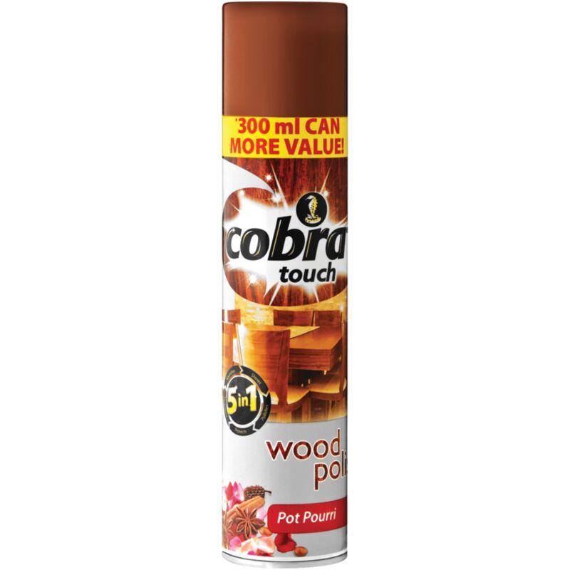 COBRA TOUCH WOOD POLISH POTPOURRI – 300ML