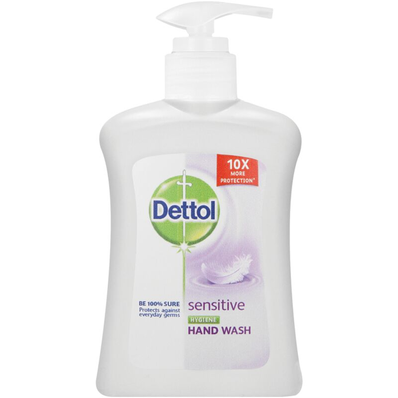 DETTOL HAND WASH SENSITIVE – 200ML