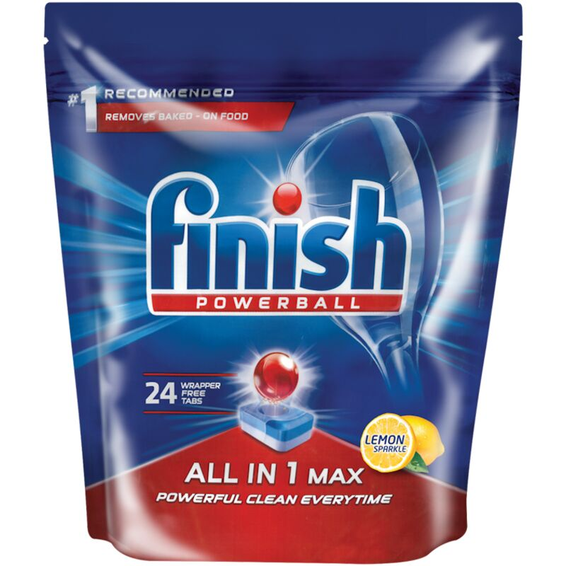 FINISH ALL IN ONE AUTO DISHWASH TABLETS LEMON – 24S