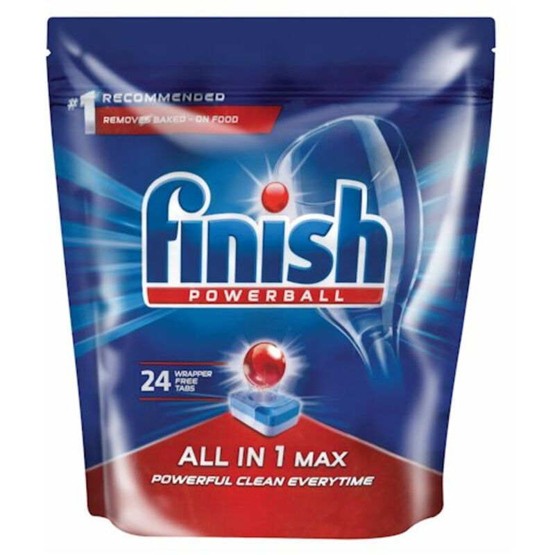FINISH ALL IN ONE AUTO DISHWASH TABLETS REGULAR – 24S