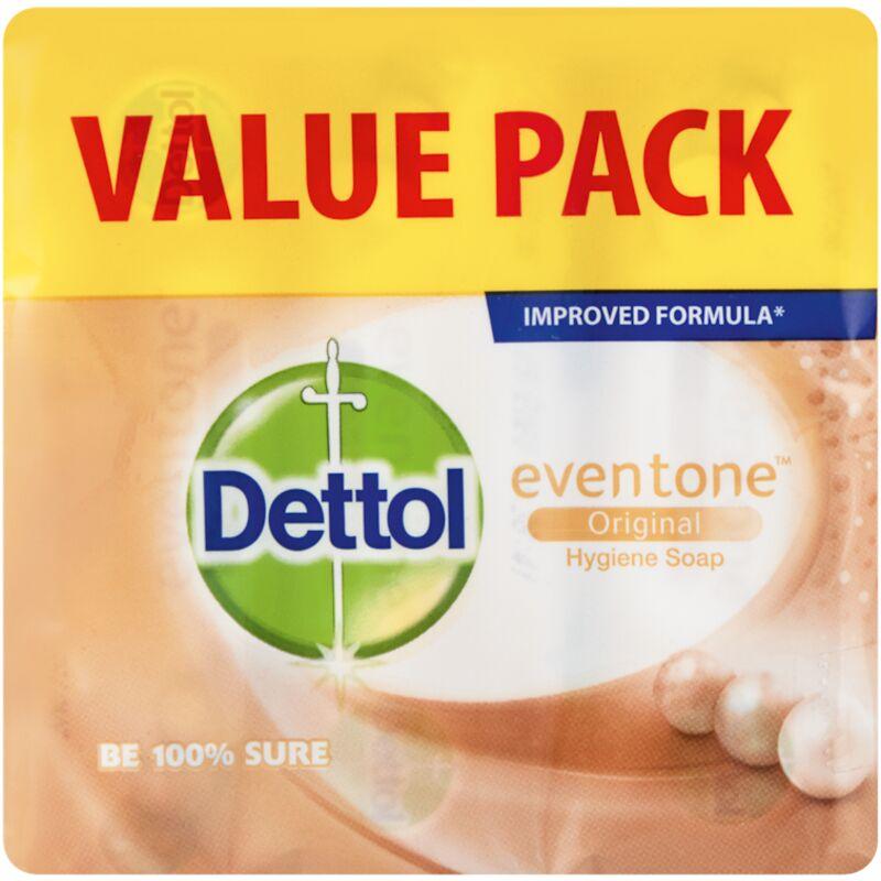 DETTOL SOAP EVENTONE ORIGINAL 3S – 150G