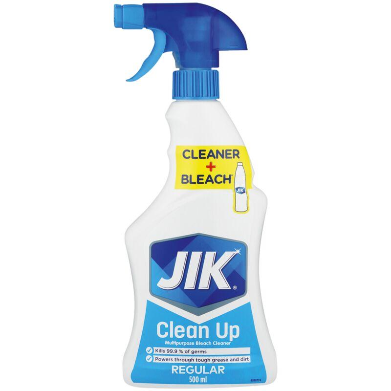 JIK CLEAN UP MULTIPURPOSE CLEANER LIQUID REGULAR – 500ML