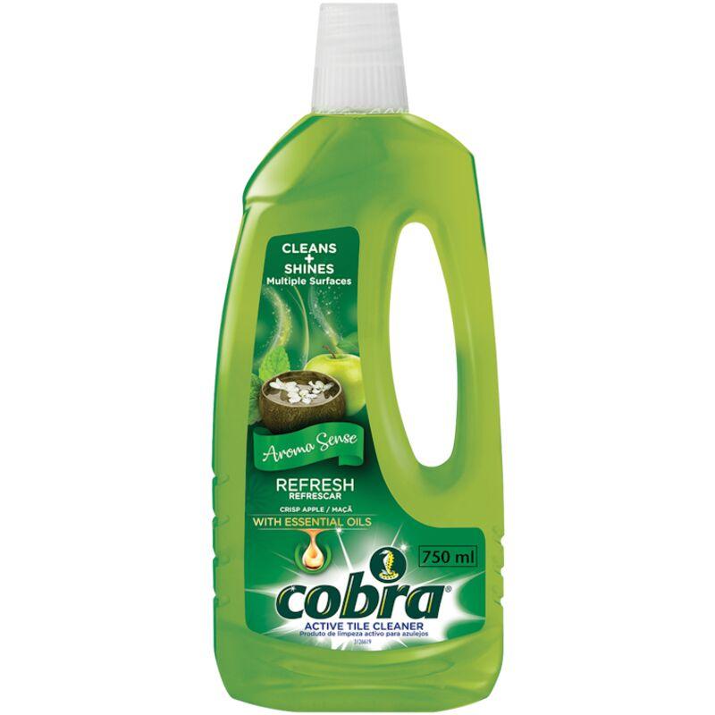 COBRA ACTIVE TILE CLEANER CRISP APPLE – 1L