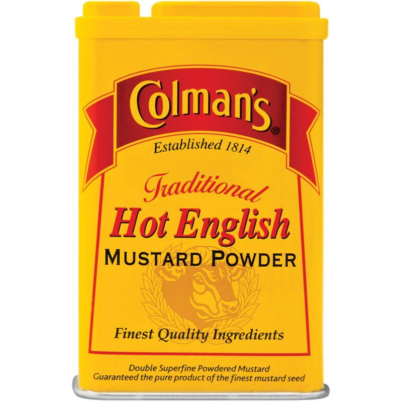 COLMANS ENGLISH MUSTARD POWDER HOT – 100G