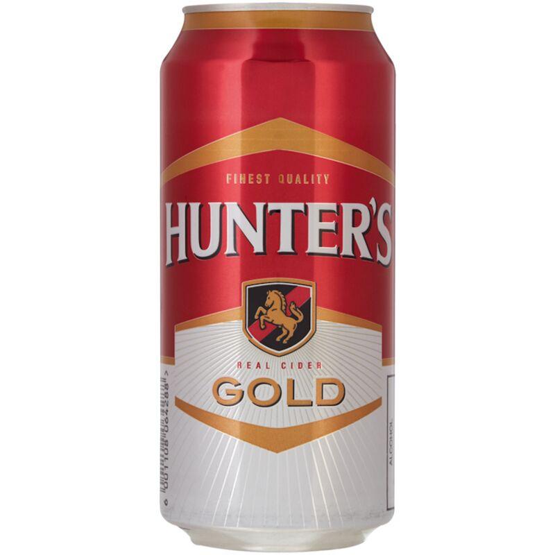 HUNTERS CIDER GOLD – 440ML