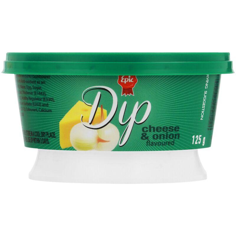 EPIC DIP CHEESE & ONION – 125G