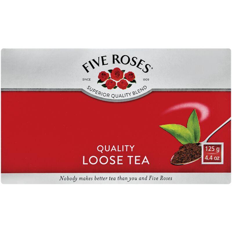FIVE ROSES TEA LEAF – 125G