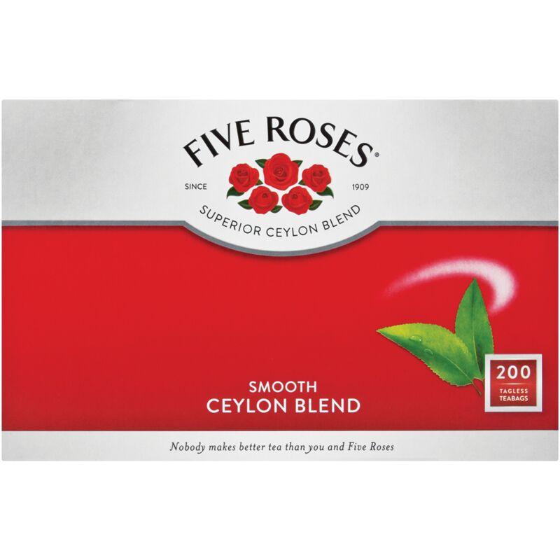 FIVE ROSES TEA BAGS TAGLESS – 200S
