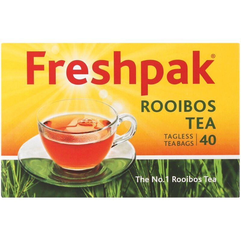 FRESHPAK TEA BAGS ROOIBOS TAGLESS – 40S
