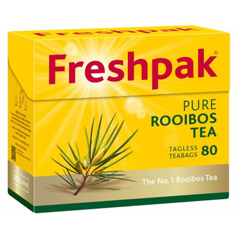 FRESHPAK TEA BAGS ROOIBOS TAGLESS – 80G