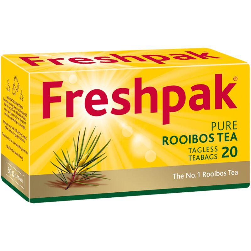 FRESHPAK TEA BAGS ROOIBOS – 20S