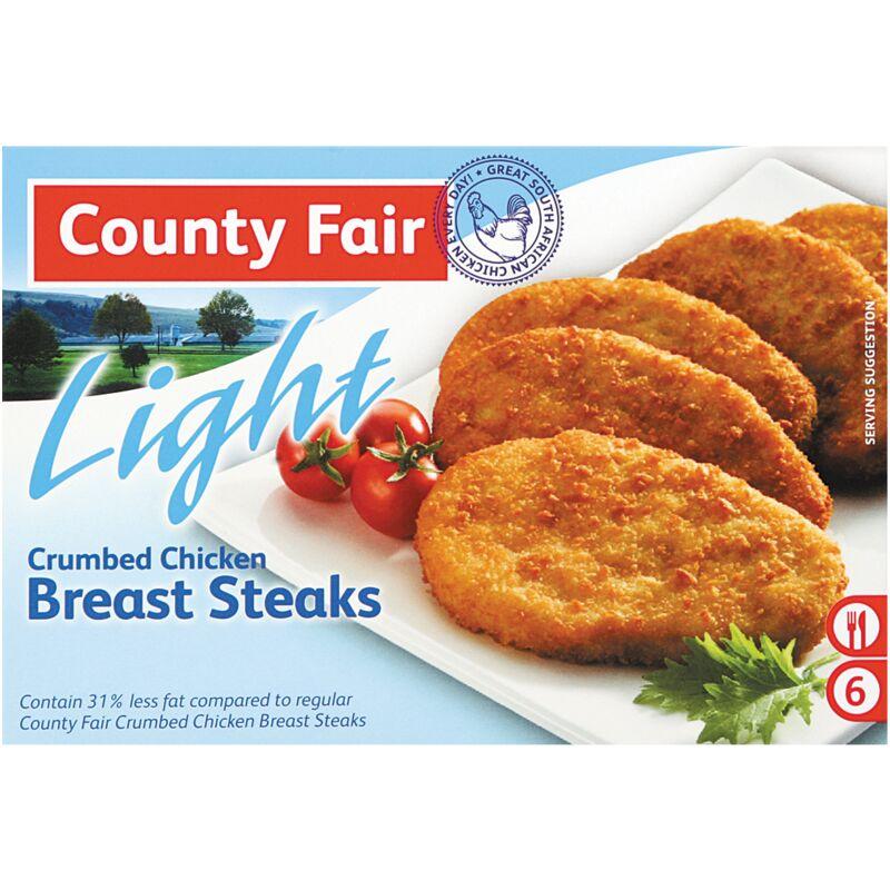 COUNTY FAIR BREASTS CRUMB LIGHT – 400G