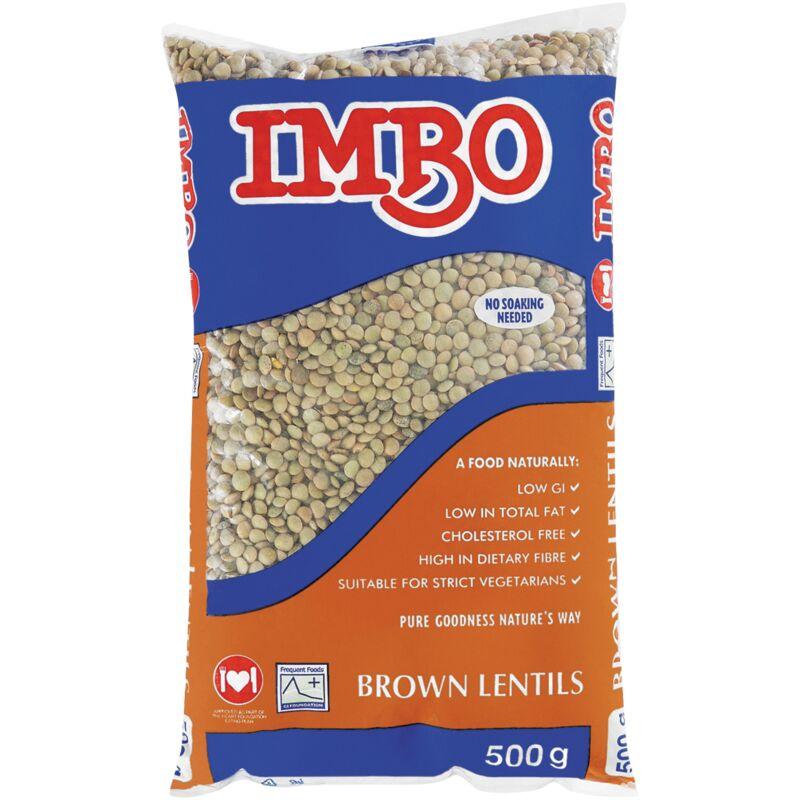 IMBO LENTILS BROWN – 500G