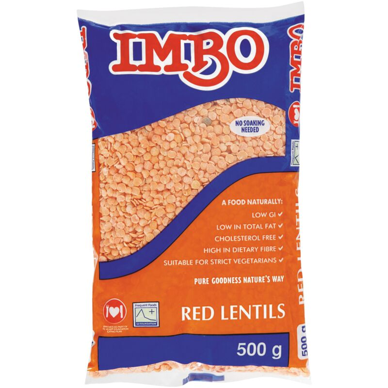 IMBO LENTILS RED – 500G