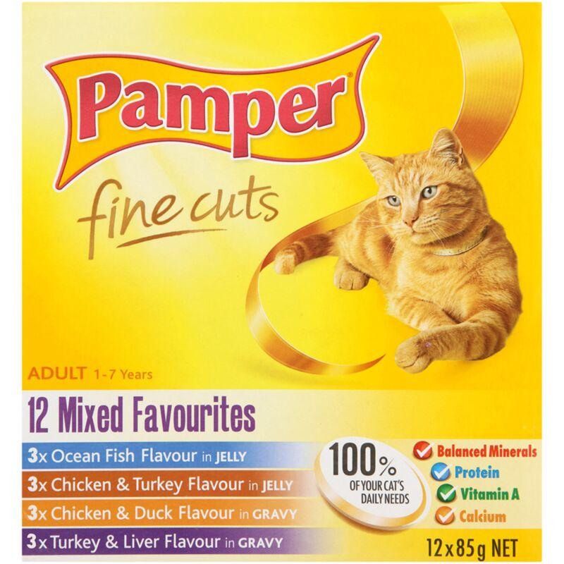 PAMPER FINE CUTS MIXED FAV MULTIPACK 12S – 85G