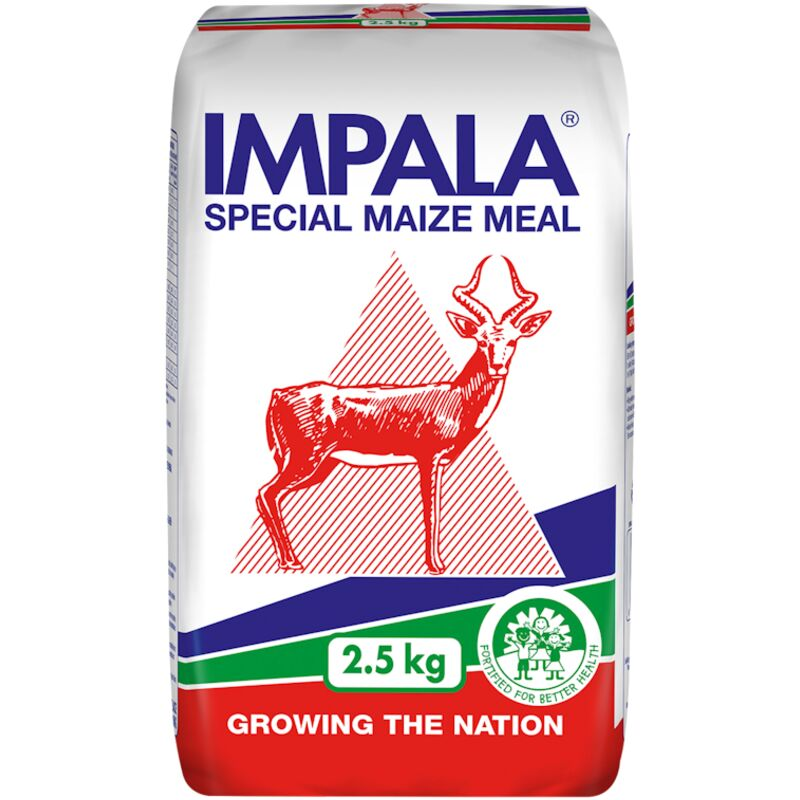 IMPALA MAIZE MEAL SPECIAL P/HAND – 2.5KG