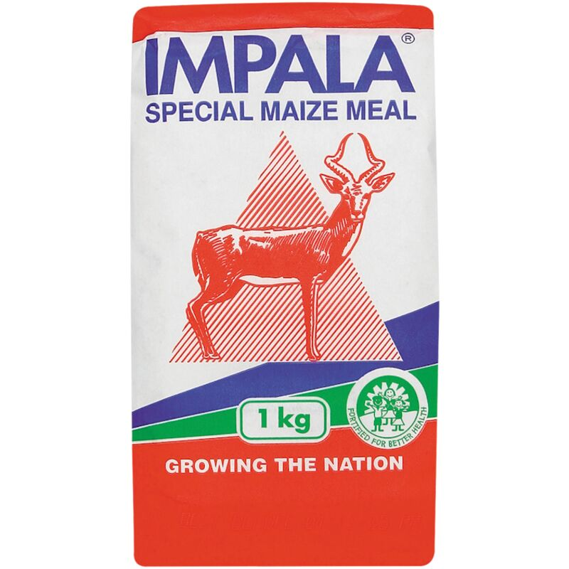 IMPALA MAIZE MEAL SPECIAL P/HAND – 1KG