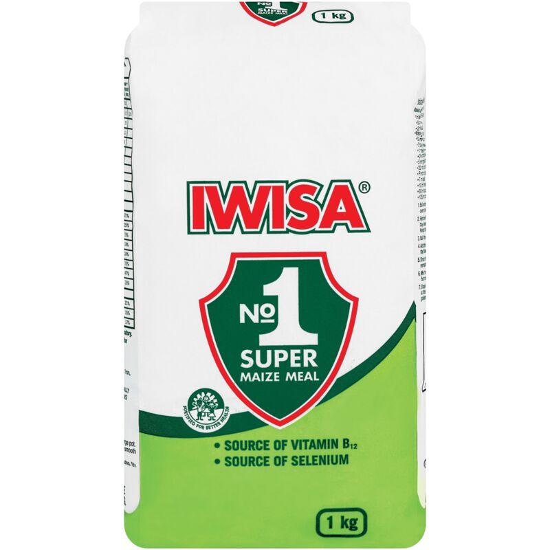 IWISA SUPER MAIZE MEAL PA – 1KG