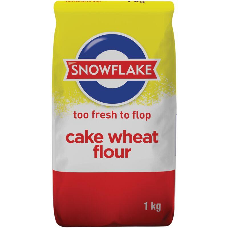 SNOWFLAKE FLOUR CAKE – 1KG