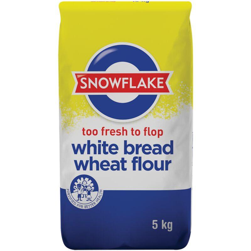 SNOWFLAKE FLOUR BREAD WHITE – 5KG