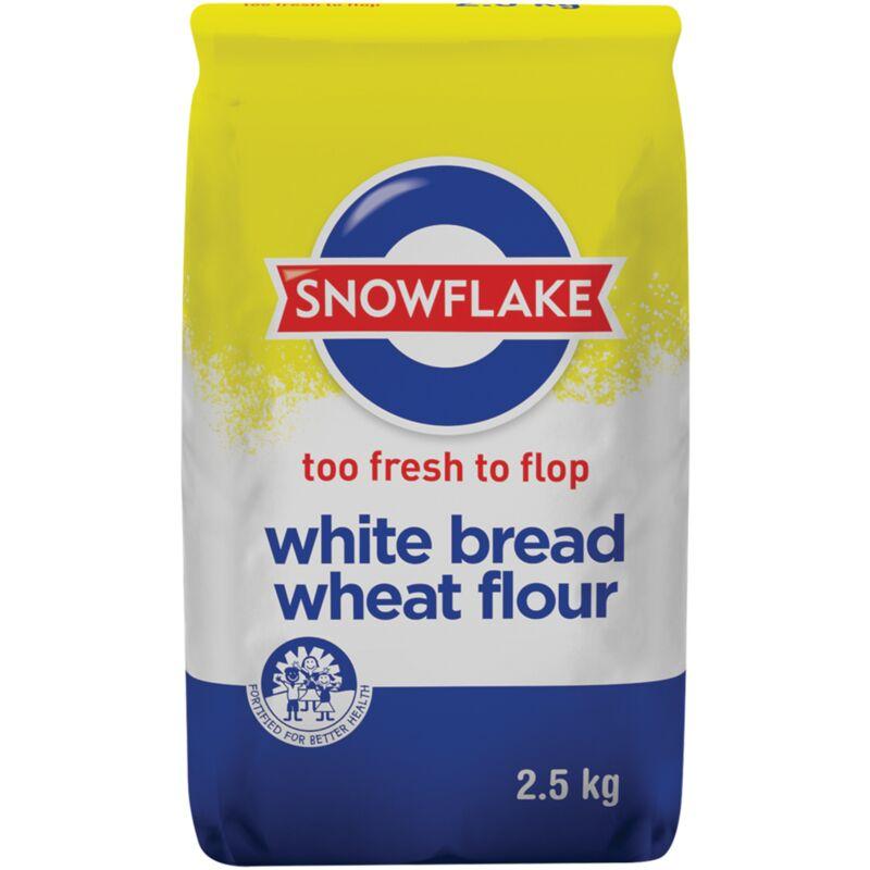 SNOWFLAKE FLOUR BREAD WHITE – 2.5KG